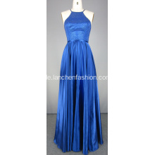 Lange Royal Blue Ballkleid Abendkleider